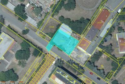kat. mapa + ortofoto LV. 4829 Roudnice nad Labem